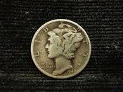 United States, Silver (.900), Mercury Dime 1942, F, MR388